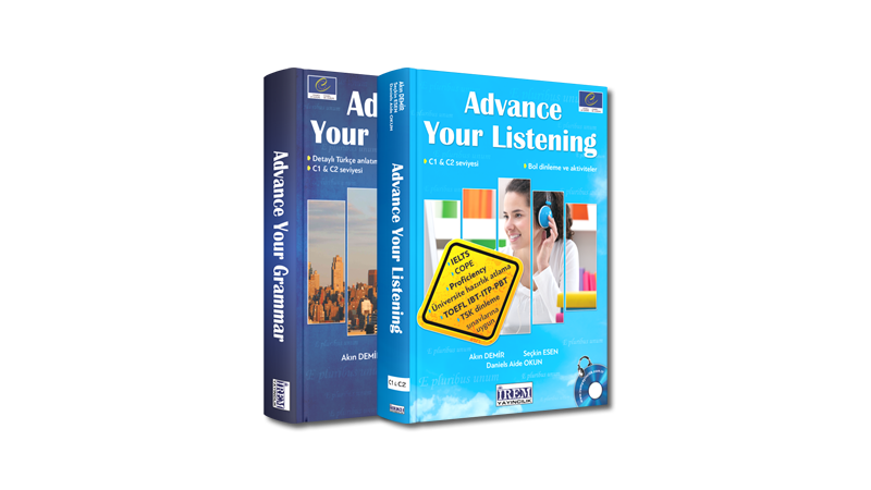 Advanced Level Grammar and Listening Books