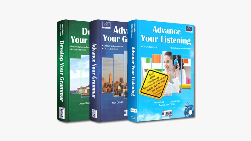 Intermediate and Advanced Grammar and Listening Books