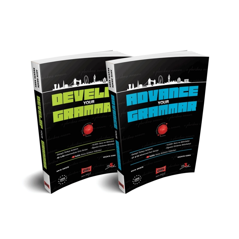 Orta ve İleri Seviye Gramer Kitap Paketi