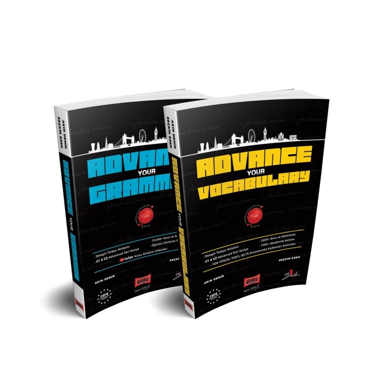 Advanced Level English Grammar and Vocabulary Books Set