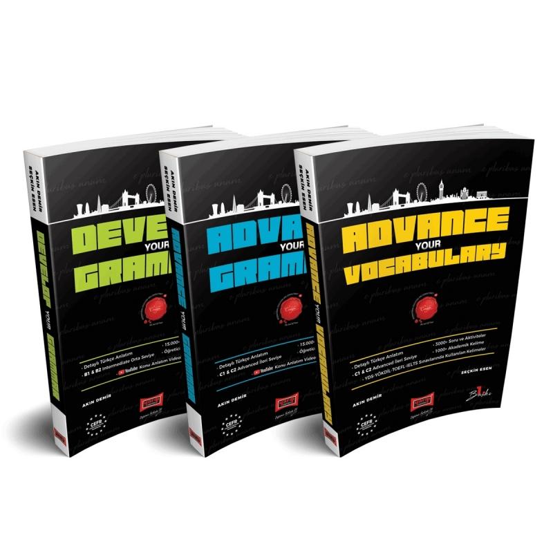 Intermediate and Advanced Level Grammar and Academic Vocabulary Books
