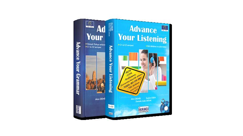 İleri Seviye Gramer ve Dinleme Kitap Paketi