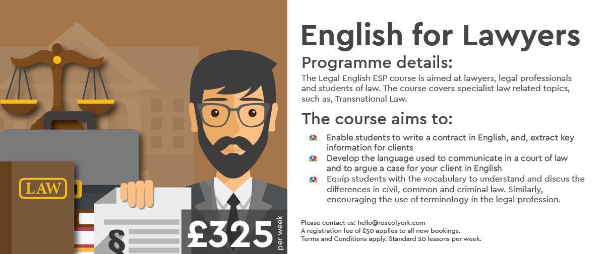 yurtdışında hukuk ingilizcesi eğitimi