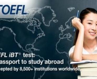 TOEFL IBT Sınavı Hakkında